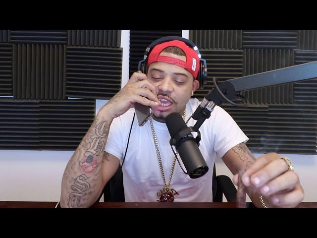 39 yr Old Marques Houston Wife Is Only19   DJ Ghost Podcast