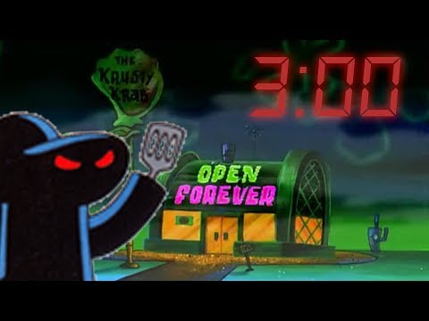 3AM AT THE KRUSTY KRAB!! | Fan Choice Friday