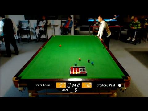 "HD | BLACK & WHITE - ""Oradea Snooker Open 2018 - Editia a VI - a"" - (SFERTURI)"