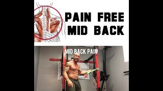 Mid Back Pain and How to Dump it Quickly | SmashweRx | Trevor Bachmeyer