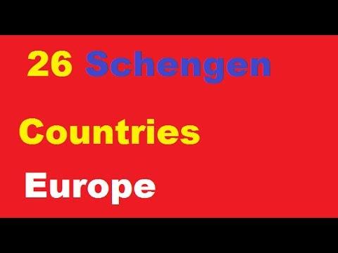 Schengen countries 2017 || 26 schengen country list || Schengen Area List 2017 || schengen area ||