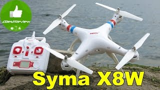 syma X8W - Обзор, балансировка винтов. Квадрокоптер с WiFi камерой.  Banggood