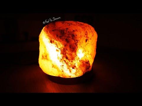 Turning Himalayan Salt Block Into LED Lamp [2in1]