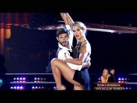 ¡Con nuevo bailarín, Flor Vigna se lució con pasión en el Tango!