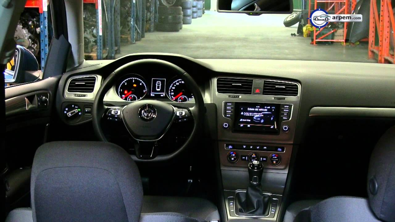 Videoprueba Volkswagen Golf Bluemotion Advance - Arpem, EU, 2013 - YouTube
