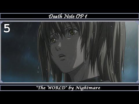 Top Nightmare Anime Songs