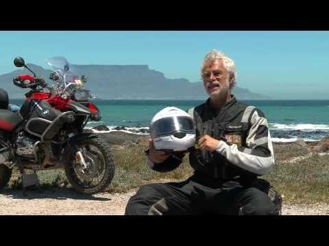 Schuberth C3 Helmet on the GlobeRiders Africa Adventure