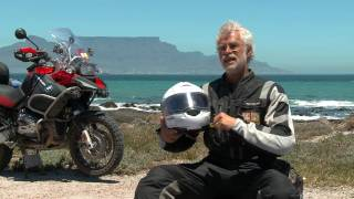 Schuberth C3 Helmet on the GlobeRiders Africa Adventure