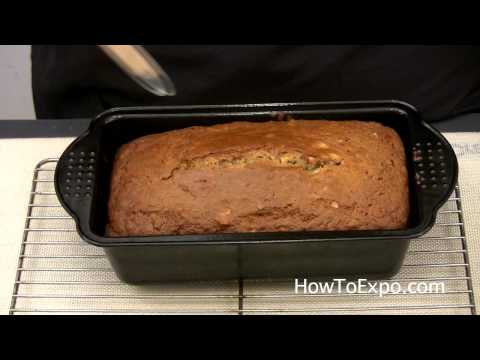 Banana Nut Bread Cake Muffin Recipe Moist Walnut Part 2 of 2