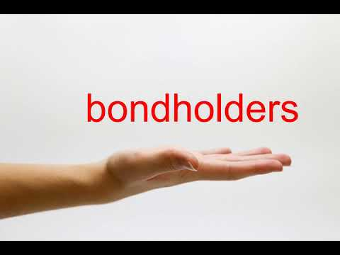 How to Pronounce bondholders - American English