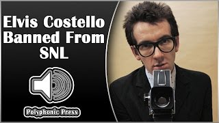 Elvis Costello Banned from Saturday Night Live [Music History]