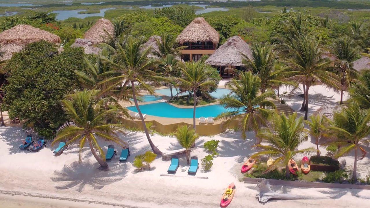 Portofino Beach Resort San Pedro Belize Barefoot Luxury Relaxation