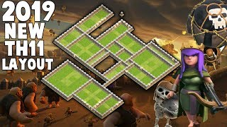 2019 Best Clan War Leagues Exclusive TH11 WAR BASE With New  (Layout)   New Exclusive Base