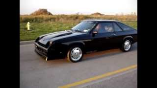 1987 Shelby Charger GLHS #477 - Engine Running (part 1) - FOR SALE BY OWNER - October, 2012