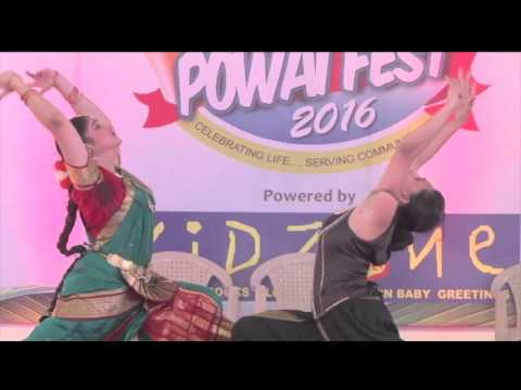 Jugalbandi (duet) between Yoga and Bharatnatyam