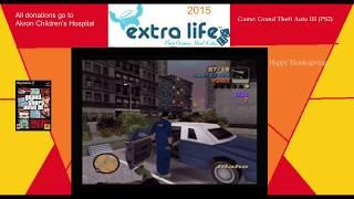 Extra Life 2015: Part 14A - Grand Theft Auto III
