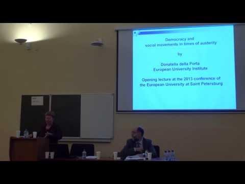 Donatella della Porta. Social movements and the state in times of crisis