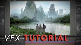 pulp adventure matte painting   vfx tutorial