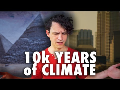 Ten Thousand Years of Climate Change History