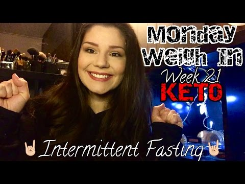 Monday Weigh In | Week 21 | KETO | Intermittent Fasting