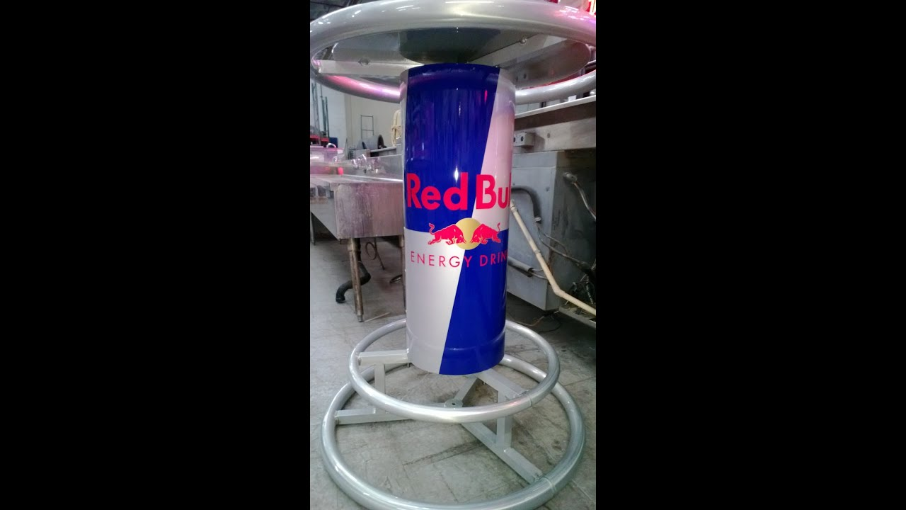 limited edition red bull table new w box youtube. Black Bedroom Furniture Sets. Home Design Ideas