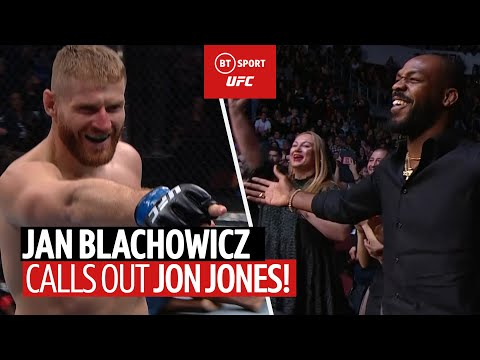 Jan Blachowicz Calls Out Jon Jones After Huge Knockout!