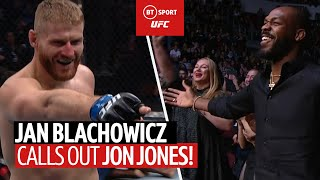 Jan Blachowicz calls out Jon Jones after huge knockout!