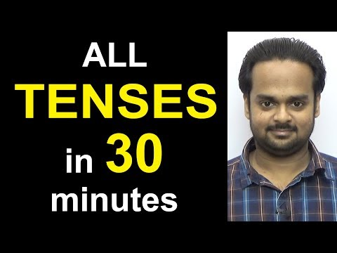 Learn ALL TENSES Easily in 30 Minutes - Present, Past, Future | Simple, Continuous, Perfect