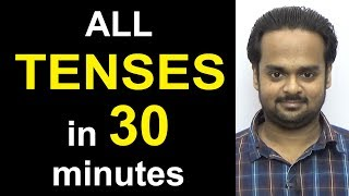 Скачать Learn ALL TENSES Easily In 30 Minutes Present Past Future Simple Continuous Perfect