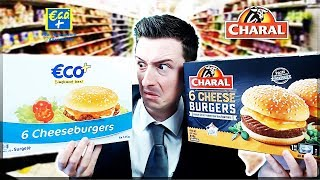 BURGER ECO+ vs BURGER CHARAL !