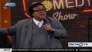 Sammy Keamaan bunga karno denga vicky prastyo Stand Up Comedy Indonesia