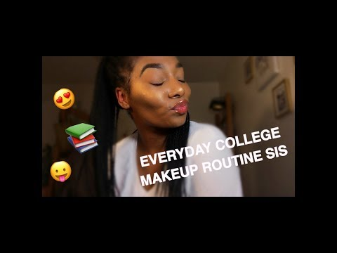 EVERYDAY COLLEGE MAKEUP ROUTINE | Alexandria Rae