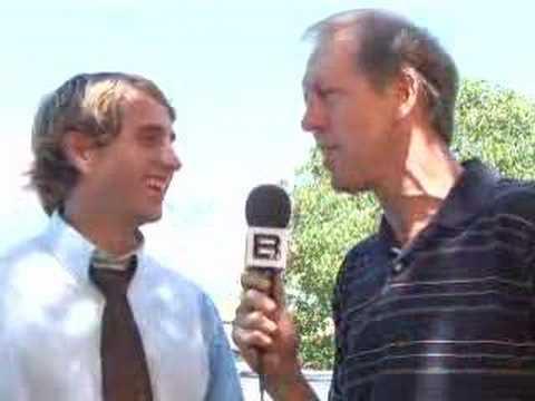 "Kirby Heyborne interview on set of ""Singles Second Ward"""