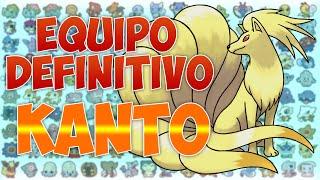 EQUIPO DEFINITIVO de KANTO