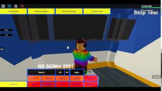 The Roblox Practical Test to be a Train driver