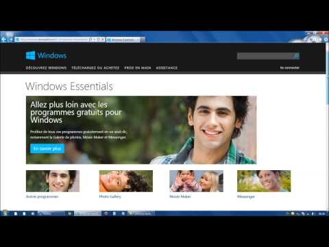 Mettre à Jour Microsoft Essentials 2012 (Windows Live Mail Et MSN Messenger)