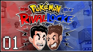 "Let's Play Pokémon Red & Blue RivalLocke w/ShadyPenguinn and Nipps ""TINY TINY TINY!"""