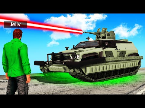 JELLY vs. OVERPOWERED LASER TANKS! (Saints Row 3 Remastered)