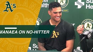 Sean Manaea discusses his no-hitter vs. the Red Sox