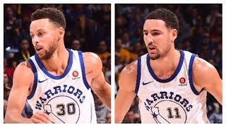 Stephen Curry and Klay Thompson Score 62 in Under 53 Minutes Combined | November 24, 2017