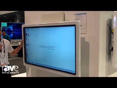 InfoComm 2014: TRIUMPH BOARD Presents the LiftBox for 55″ LED LCD & Tilt Frame