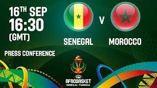 Senegal v Morocco - Press Conference - FIBA AfroBasket 2017 thumbnail