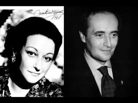 Montserrat Caballe & Jose Carreras. Un ballo in maschera. Finale.