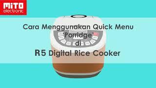 Cara Mengoperasikan Digital Rice Cooker MITO R5