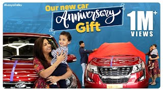 Our New Car | Marriage Anniversary Gift | XUV 500 | Lasya Manjunath | Lasya Talks