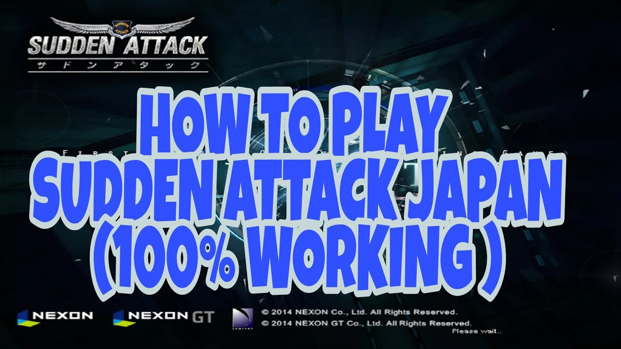 SUDDEN ATTACK NEXON