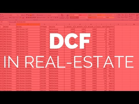 Real-Estate Investing Finance For Beginners: DCF (Discounted Cash Flow)