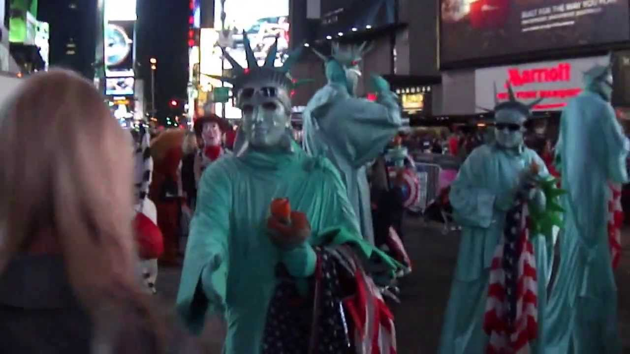 New Year In New York Times Square