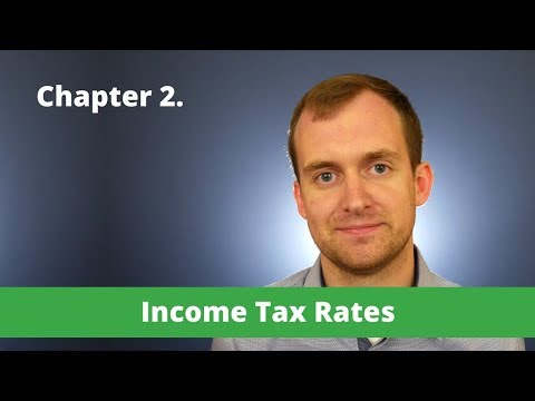 Canada Guide – Chapter 2 – Income Tax Rates