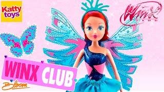 Клуб Винкс - Кукла Фея Сиреникс. Блум (Winx Club Sirenix Bloom) Обзор на русском